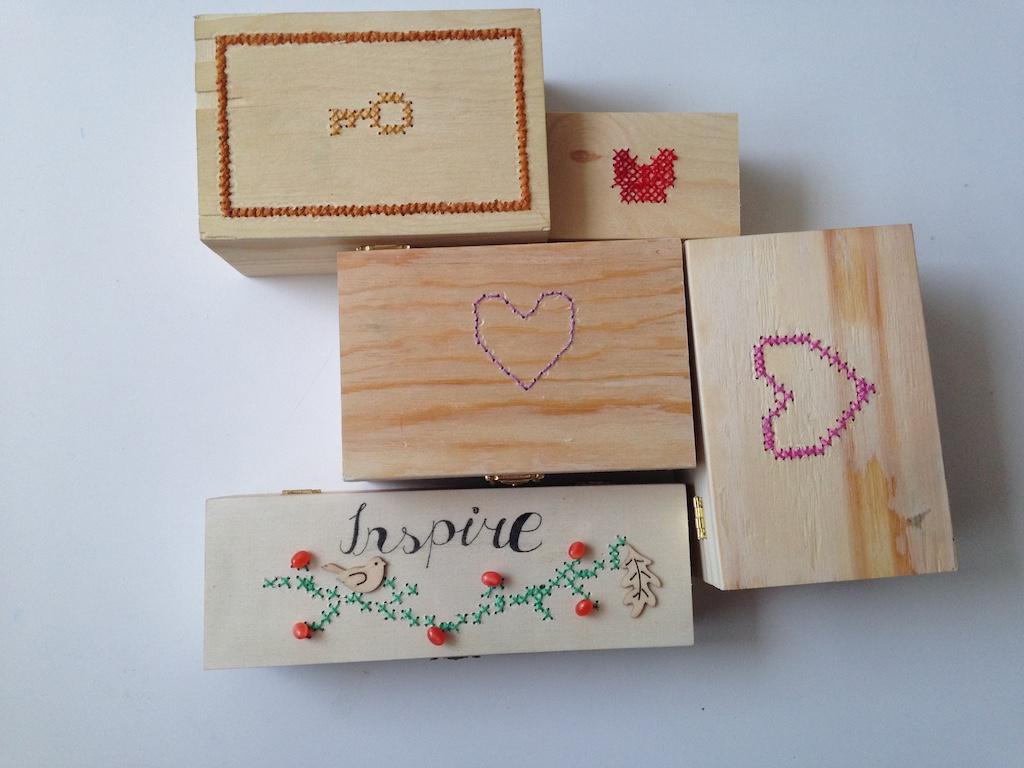 Výtvory detí - krabičky