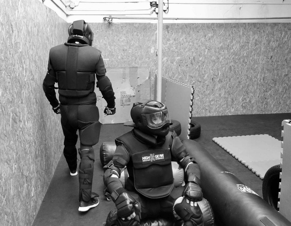 Príprava na nácvik situácie napadnutia v MHD
